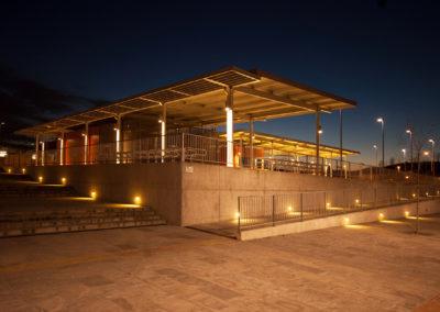 Stazione degli autobus a Melzo